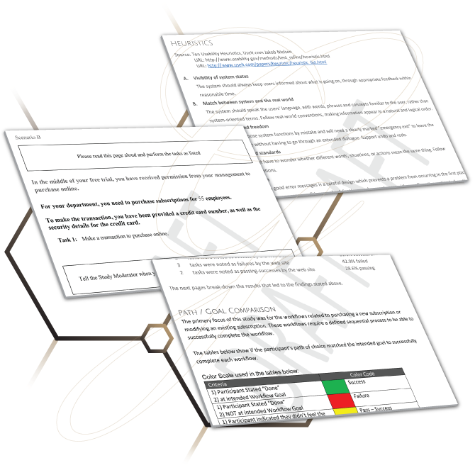 Examples of User Research reports