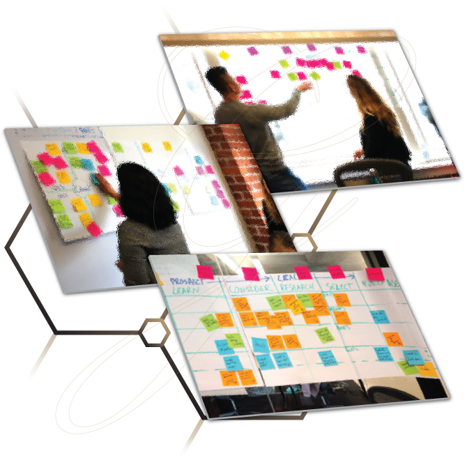 User Experience and Brainstorming workshops